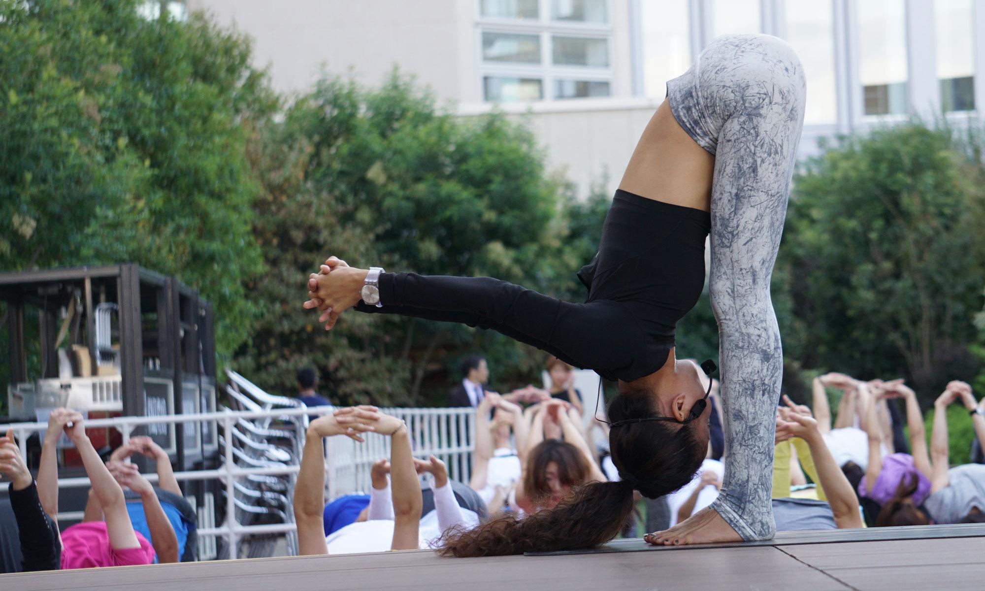 ヨガフェスタ 阪急 2018 秋|Yogafest Hankyu 2018 Autumn